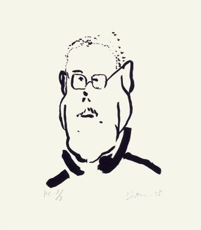 Сериграфия Dietman - Autoportrait No. 2