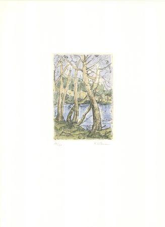 Гравюра Wittmann - Bäume