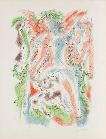 Литография Masson - Bacchanale from Je Reve Portfolio