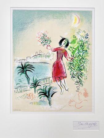 Литография Chagall - Baie des Anges