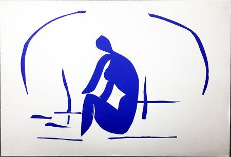 Литография Matisse - Baigneuse Dans Les Roseaux. Lithographie pour VERVE. 1958