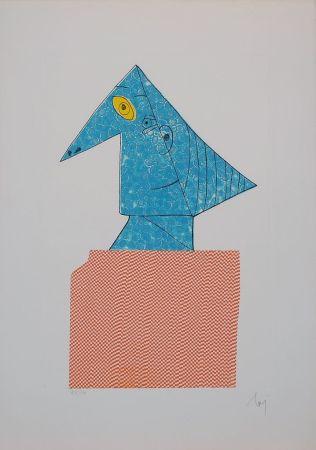 Гравюра Baj - Baj chez Picasso 1