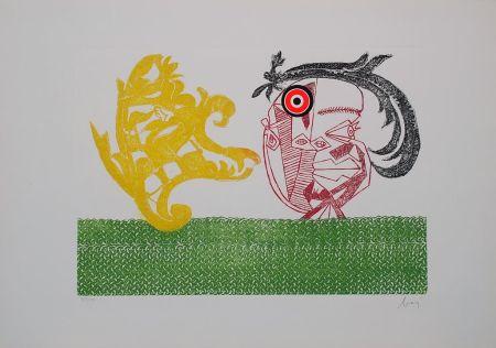 Гравюра Baj - Baj chez Picasso 2
