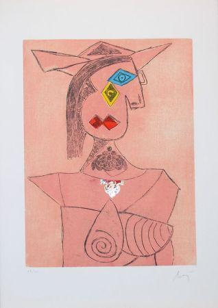 Гравюра Baj - Baj chez Picasso 8