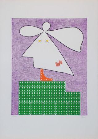 Гравюра Baj - Baj chez Picasso 9