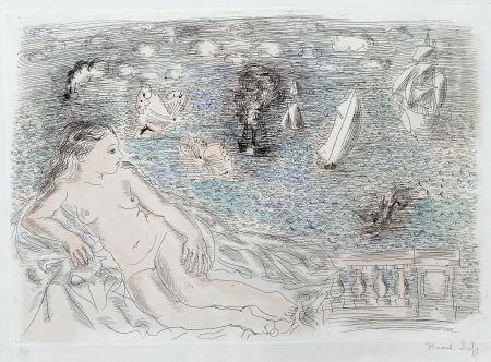 Многоэкземплярное Произведение Dufy - Balcon Sur La Mer (Baigneuse aux Papillons)