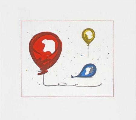 Литография Oldenburg - Balloons