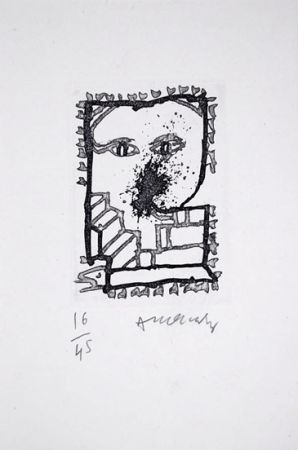 Иллюстрированная Книга Alechinsky - Baluchon Et Ricochets - Nrf