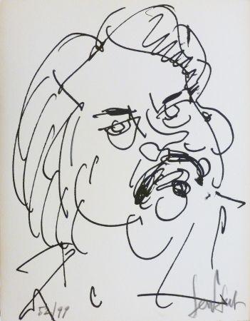Литография Paul  - Balzac