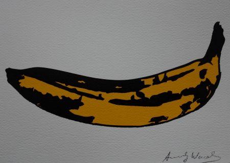 Сериграфия Warhol (After) - Banana