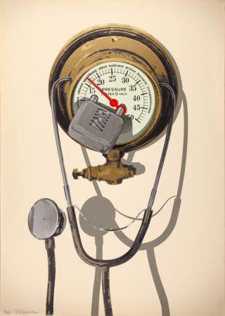 Сериграфия Burwitz - Barometer of Average Sensibilities (Combination Lost)