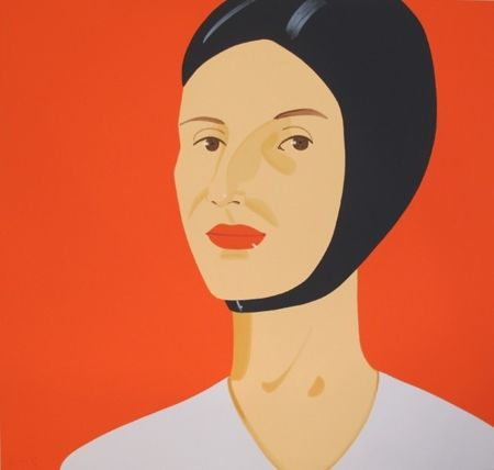 Сериграфия Katz - Bathing Cap, Ada, 2012