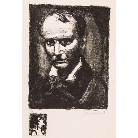 Литография Rouault - Baudelaire