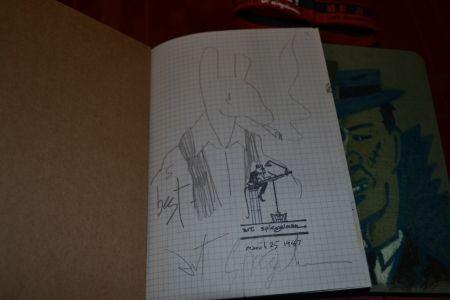 Иллюстрированная Книга Spiegelman - Be a Nose! (with an original pencil drawing of