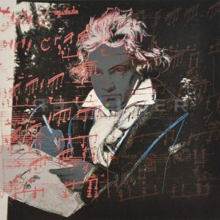 Сериграфия Warhol - Beethoven (Fs Ii.391)