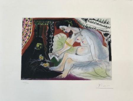Офорт И Аквитанта Picasso - Betsabée