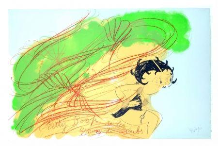 Литография Messagier - Betty Boop