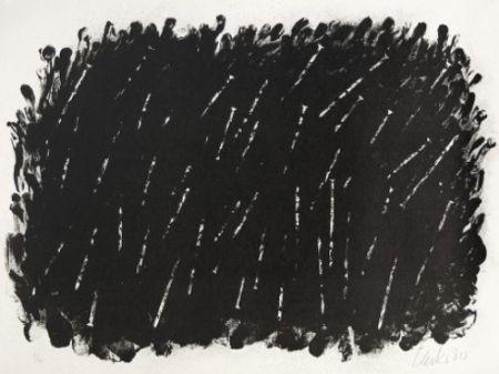 Литография Uecker - Bewegung