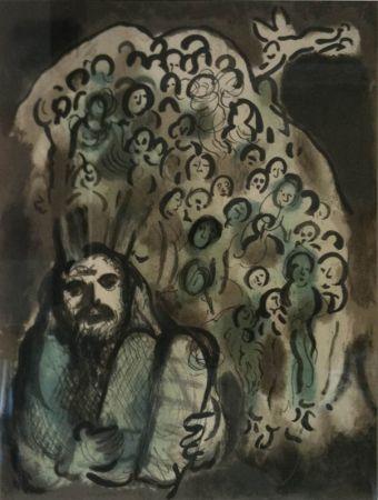 Литография Chagall - Biblical Mesage