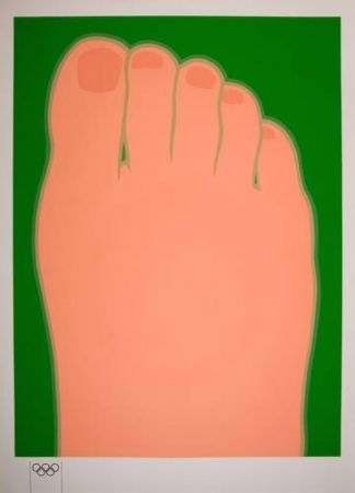 Сериграфия Wesselmann - Big foot