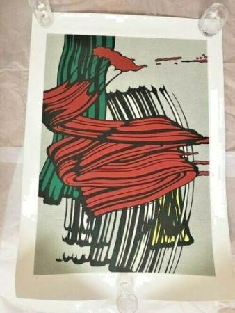 Сериграфия Lichtenstein - BIG PAINTING NO 6