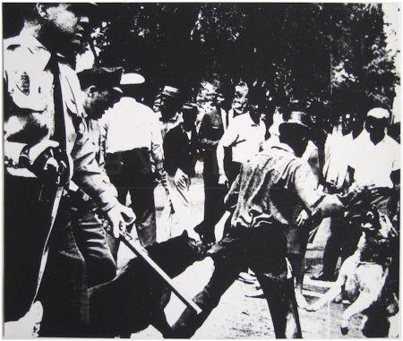 Сериграфия Warhol - Birmingham Race Riot (FS II.3)
