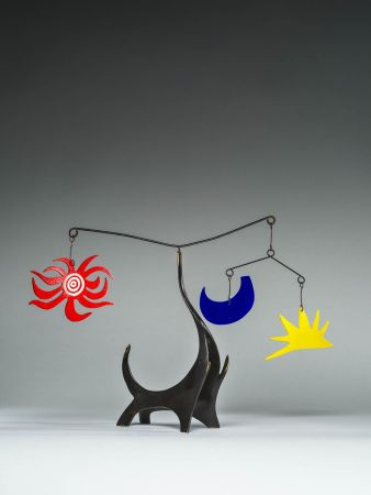 Многоэкземплярное Произведение Calder - Black Elephant