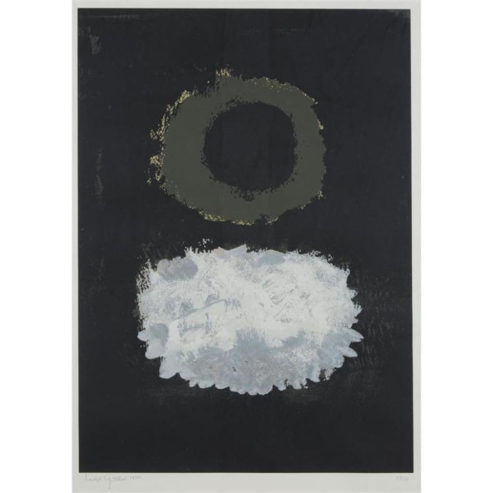 Сериграфия Gottlieb - Black field