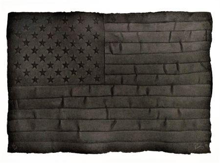 Многоэкземплярное Произведение Longo - Black Flag