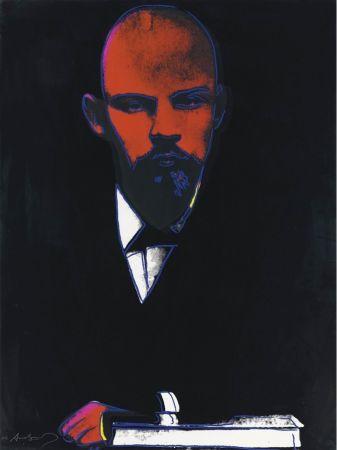 Сериграфия Warhol - Black Lenin (FS II.402)