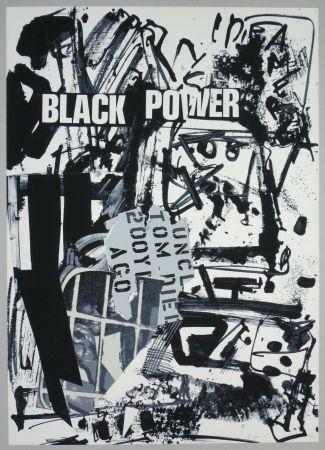 Литография Vedova - Black power