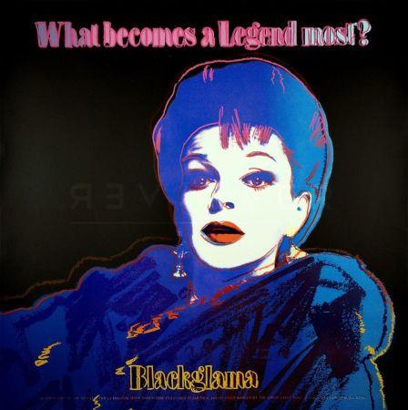 Сериграфия Warhol - Blackglama (FS II.351)