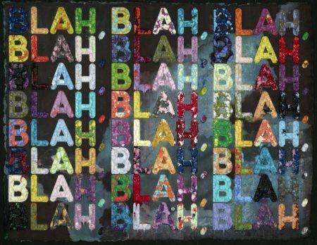 Монотип Bochner - Blah Blah Blah (Black)