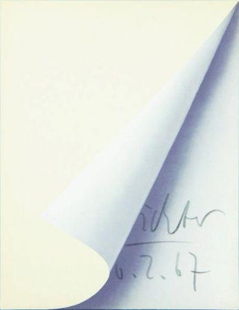 Литография Richter - Blattecke (Cantz 11)