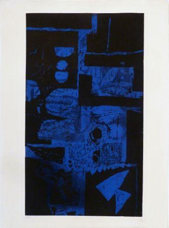 Офорт И Аквитанта Clavé - Bleu Noir