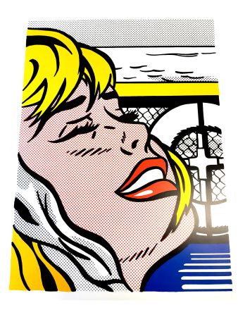 Литография Lichtenstein - Blonde