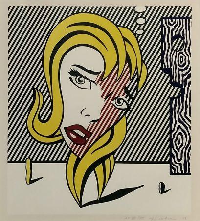 Литография Lichtenstein - BLONDE (SURREALIST SERIES)
