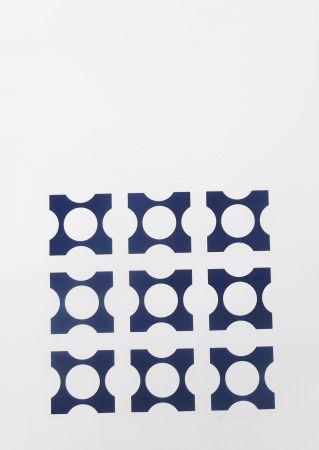 Литография Vasarely - Blue From Album I Suite