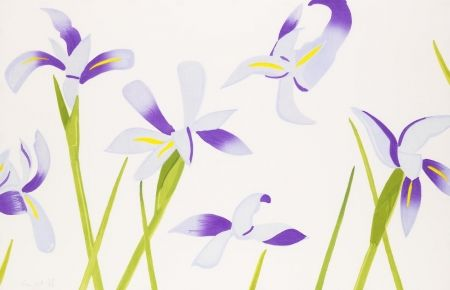 Гравюра На Дереве Katz - Blue Irises