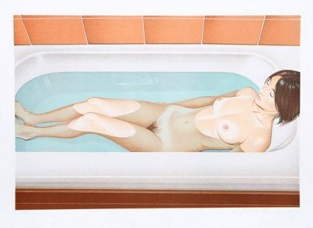 Литография Ramos - Bonnards bath