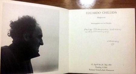 Иллюстрированная Книга Chillida - Book Chillida Skulpturen - Signed by the artist
