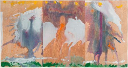 Акватинта Frankenthaler - Book of Clouds