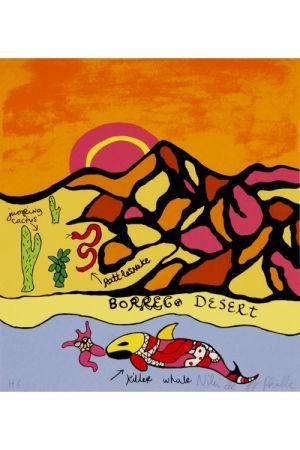 Литография De Saint Phalle - Borrego desert
