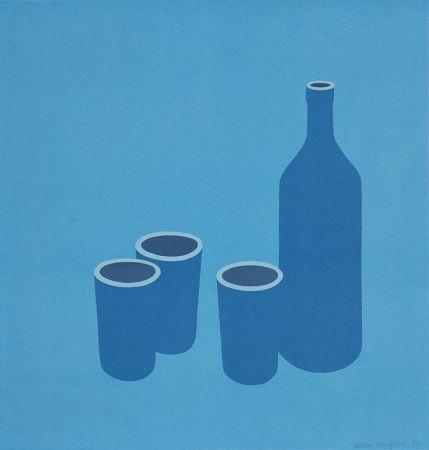 Сериграфия Caulfield - Bottle and Cups