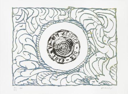 Литография Alechinsky - Bouche D'eau Iii