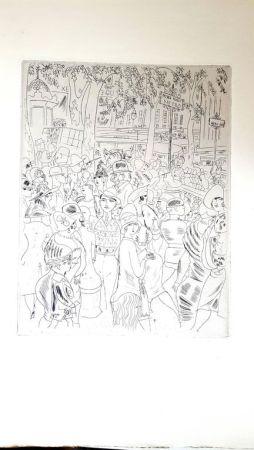 Литография Laborde - Boulevard Capucine