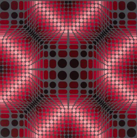 Сериграфия Vasarely - Boulouss