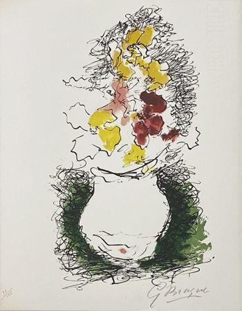 Литография Braque - Bouquet