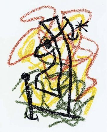 Литография Miró - Bouquet de Rêves pour Neila