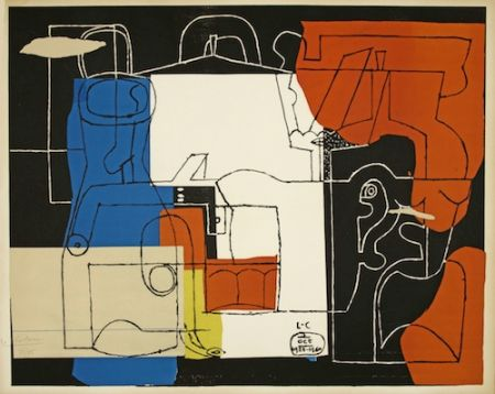 Литография Le Corbusier - Bouteilles (hand-signed & numbered)